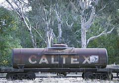Caltex rail car