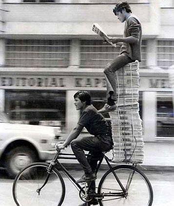 Newspaper transport