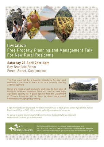 Flyer - Property Planning and Management For Rural Residents