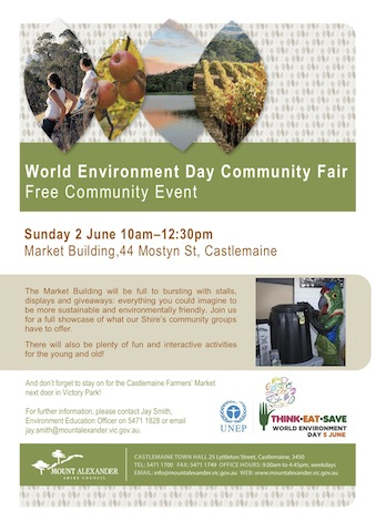 Flyer - WED Community Fair A4 - 2 June 2013