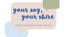 Have Your Say: Mount Alexander Shire Council 4Year Action Plan